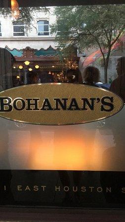 Bohanan's Prime Steak and Seafood: Bohanan's front door