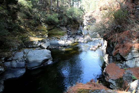 Burning Lake: River pool where treasure was discovered.