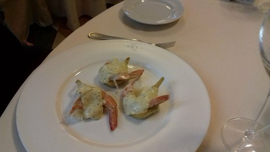 Colleoni dell'Angelo Restaurant : First plate!!!!!!