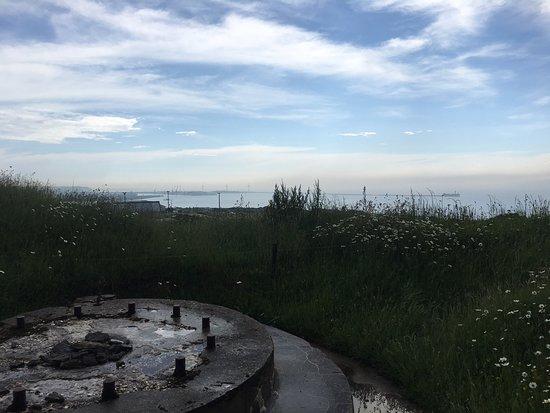 Fort de la Creche: Gunner's view of Boulogne