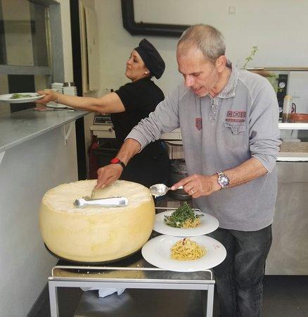 Las Maravillas, Spania: Espagueti al parmesano