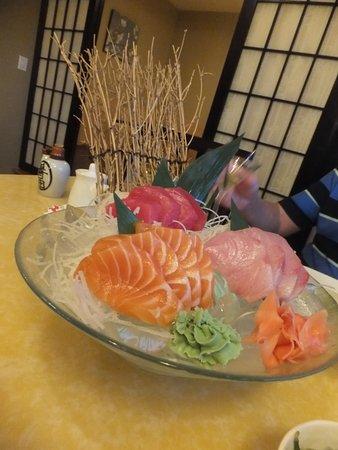 Sakura Japanese Steak House & Sushi: Interior showing the Sushi Counter