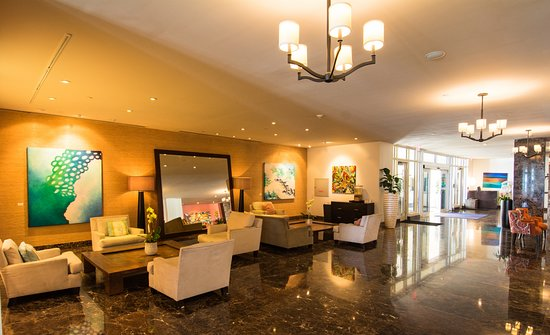 The Atlantic Hotel & Spa: Lobby Area