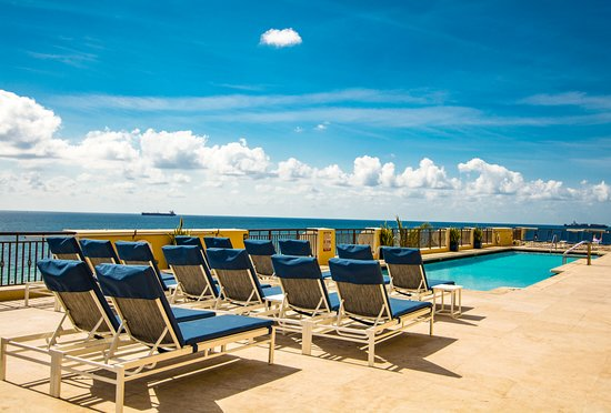 The Atlantic Hotel & Spa: Pool Deck