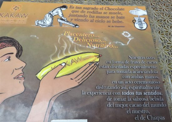 San Cristobal de las Casas, Messico: Come va bevuto il cacao