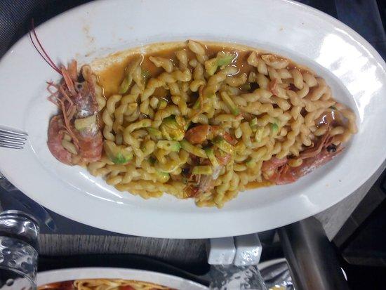 La Favola: Fusili aux crevettes