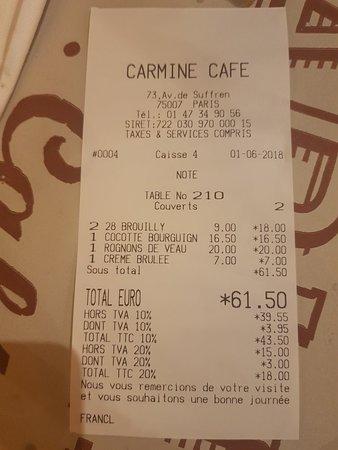 Carmine Cafe-bild