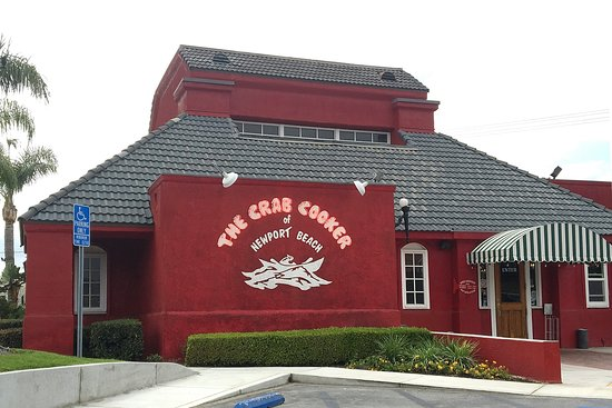 Crab Cooker Restaurant: Right off the 55 freeway.