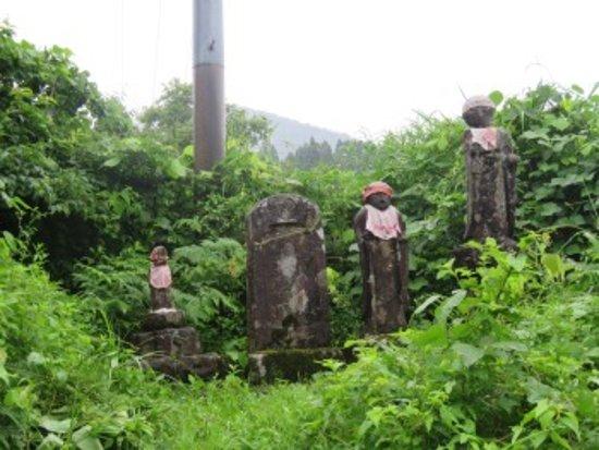 Itoigawa, Japan: 西回り塩の道延命地蔵