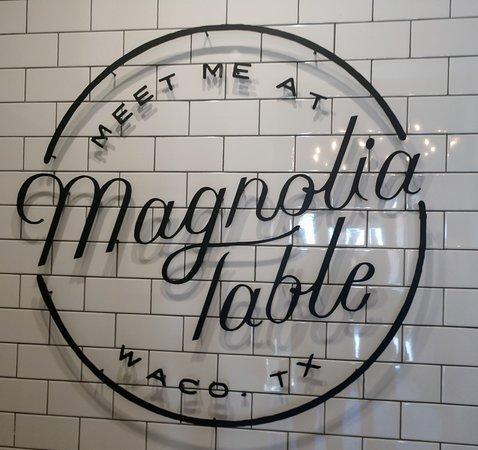 Magnolia Table : bathroom sign