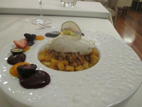 il Vivaldi Mediterranean Cuisine : desert crumble