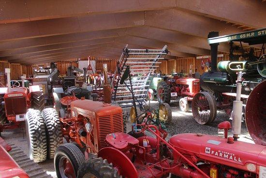 Pincher Creek, Canada: Antique farm equipment at Heritage Acres.