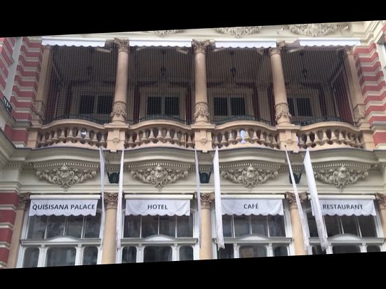 Quisisana Palace : Noch einmal: Die Suite von Außen.