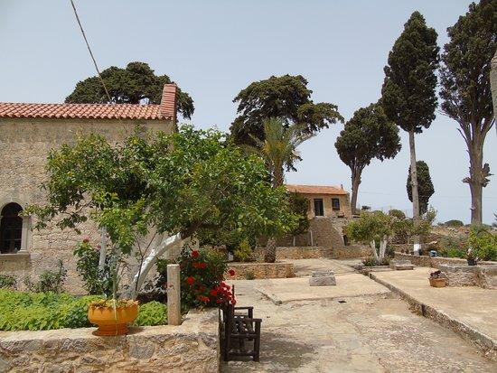 Areti Monastery: dans la cour