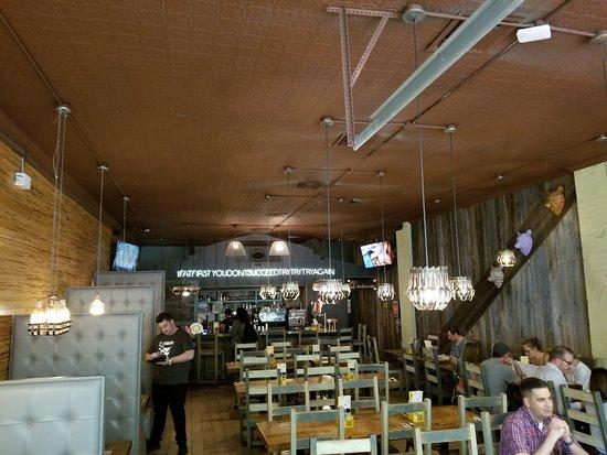 Inside Picture Of Bareburger Hell S Kitchen New York City Tripadvisor