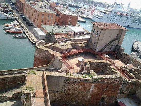 Fortezza Vecchia - Livorno's old fortress-view of Matilda' s tower