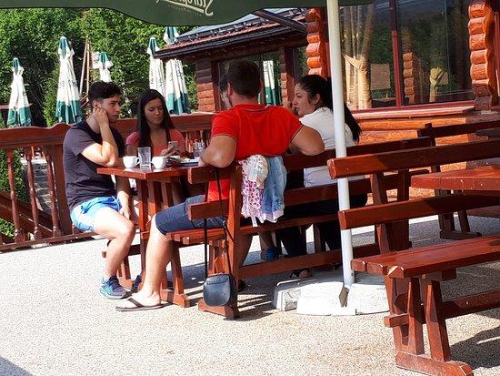 Arpasu de Sus, Romania: Having fun