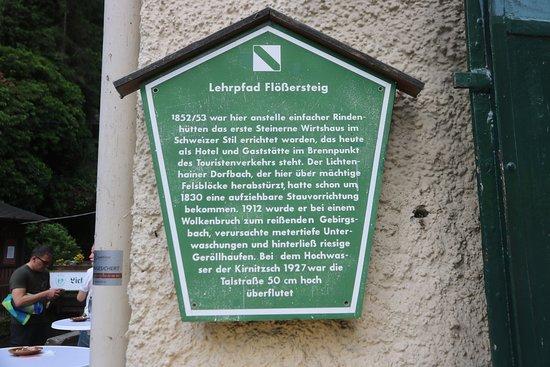 Kirnitzschtal, Duitsland: Lichtenhain - Gasthof Wasserfall 8