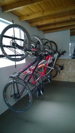 El Costurero Ciclo Café: Bici-parqueadero para nuestros clientes