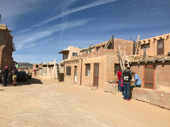 Pueblo of Acoma, NM: homes on top of Sky City