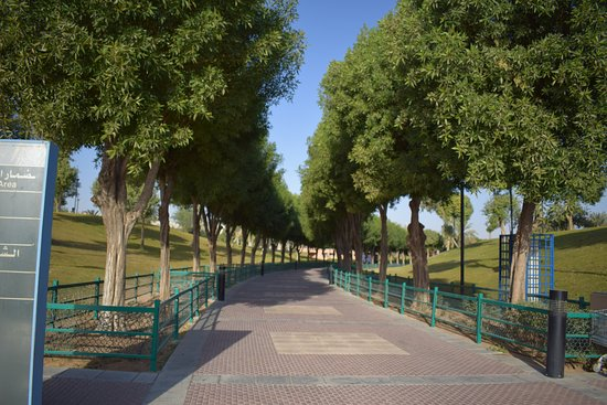 Salam Park: stroll around the park and inhale the freshness of the air here