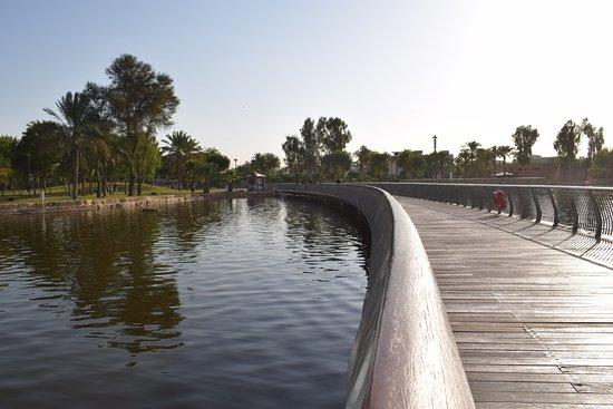 Salam Park: the bridge