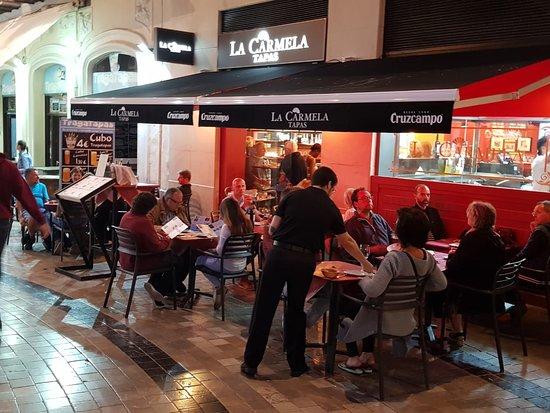 La Carmela Tapas : Plaza uncibay 6