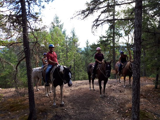 Paradise Acres Ranch: Happy riders at the Look out