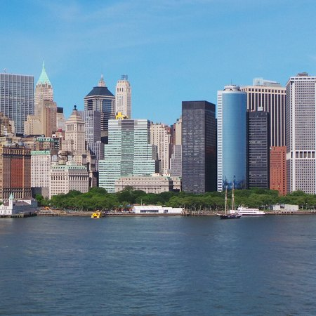 Havana Central Times Square : NYC skyline - a view from the Staten Island Ferry