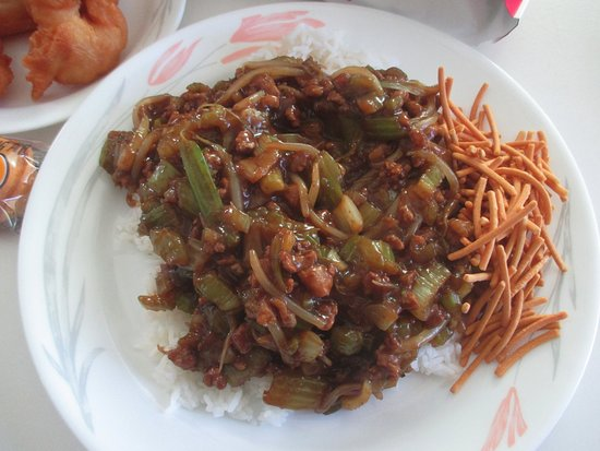 Columbia Heights, MN: Plain Chow Mien