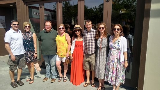 Wine Country Walking Tours: After our final stop