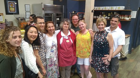 Wine Country Walking Tours: In the Healdsburg bakery