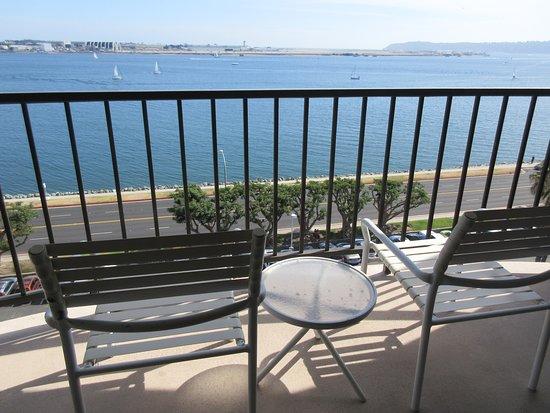 Sheraton San Diego Hotel & Marina: Nice balcony