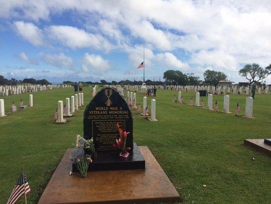 Maui Veterans Cemetery: World War II Memorial