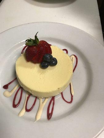C. Greto's Modern Italian: Lemon Marscarpone Cheesecake