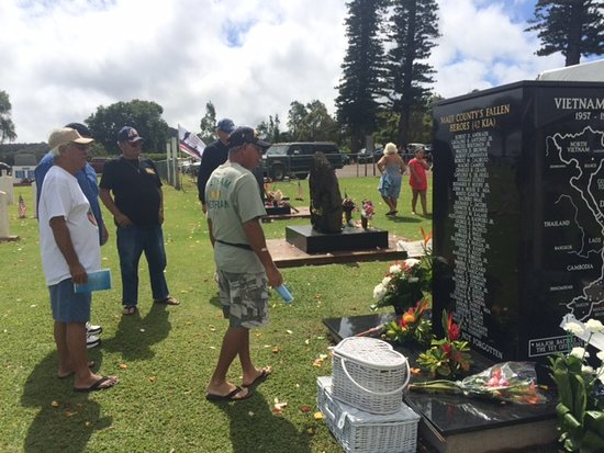 Maui Veterans Cemetery: soldiers of the Vietnam War, 2018