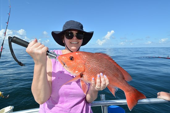 Distraction Charters: nice red snapper