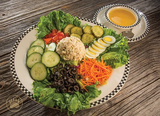 Black Bear Diner: Tuna Chef Salad