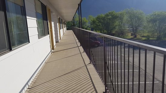 Retasket Lodge & RV Park: balcony