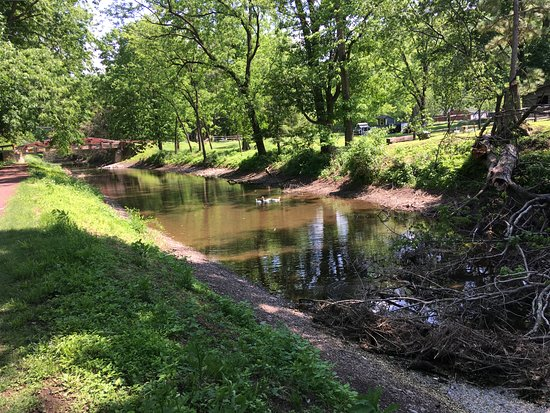 Upper Black Eddy, PA: The canal tow path - a short distance away for a walk or biking