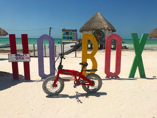 Holbox Island, Mexiko: Playitas Ecobikes Holbox