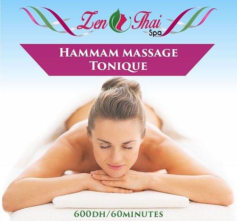 hammam + massage chez zen thai spa casablanca