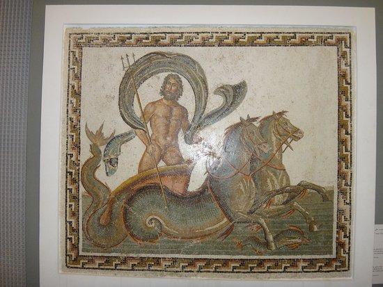 Sousse Archaeological Museum: Мозаичное панно