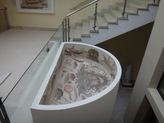 Sousse Archaeological Museum: Нептун.Мозаика.