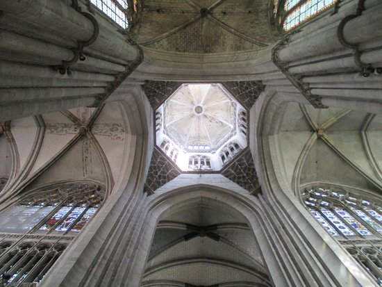 Cathedrale Notre Dame de Evreux: The Dome over the Transept