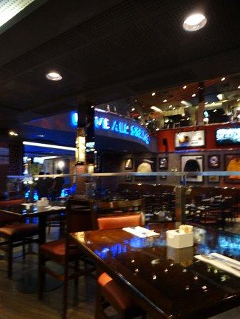 Hard Rock Cafe: dentro