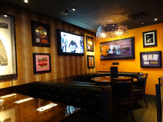 Hard Rock Cafe : mesa