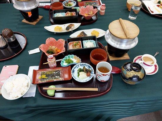 Iwakuni Kokusai Kanko Hotel : 早餐