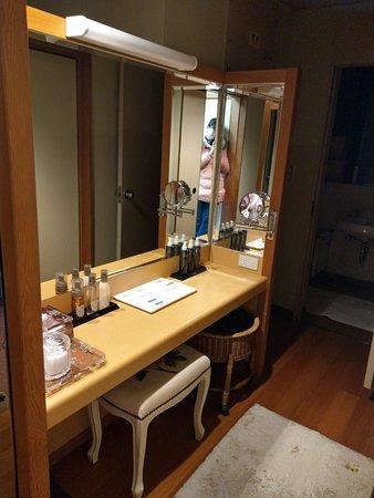 Iwakuni Kokusai Kanko Hotel : 梳妝台