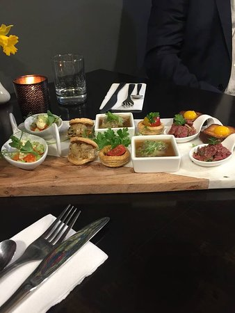 Arthur's Cafe: Canapés from a private dinner